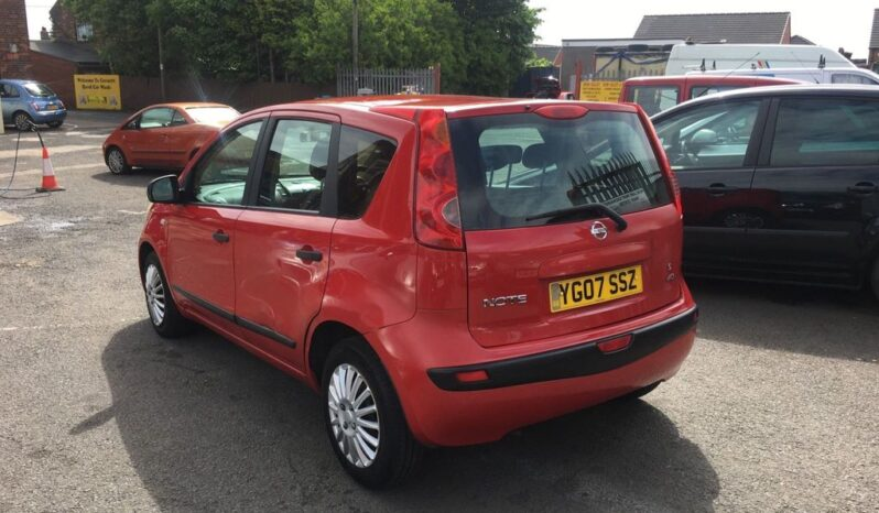 Nissan Note 1.5 dCi S 5dr 2007 full