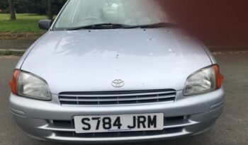 Toyota Starlet 1999 (S reg) 1.3 Solida Limited Edition 5dr full