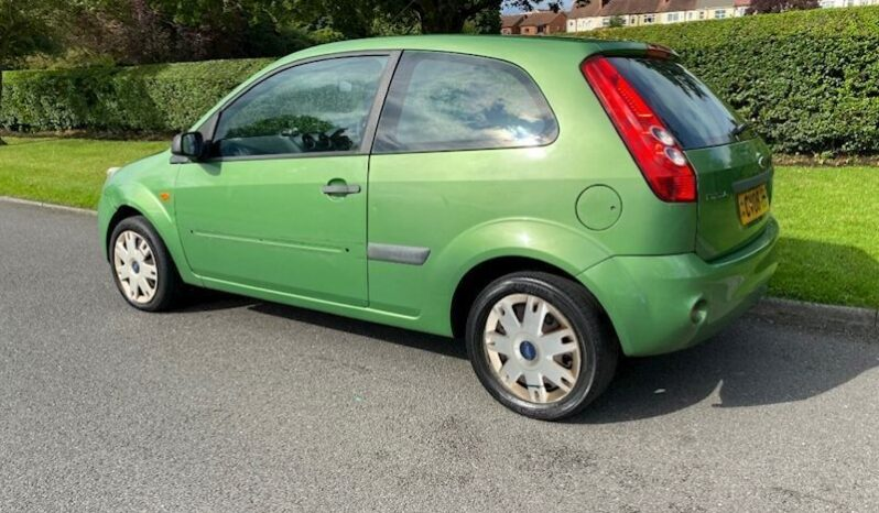 Ford Fiesta 2008 (08 reg) 1.25 Style Climate 3dr (142 g/km, 74 bhp) full